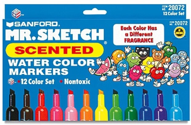 Mr. Sketch smelly markers