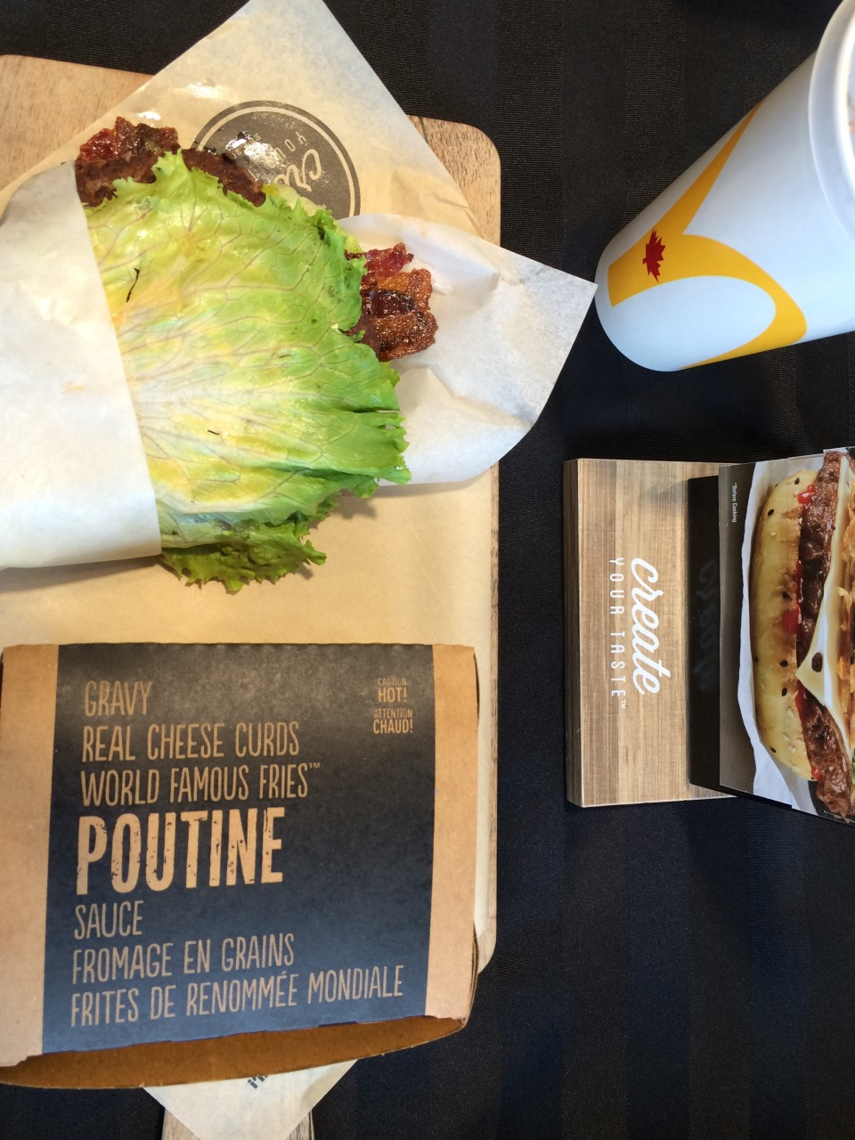 McDonalds Lettuce Wrapped Create Your Taste Exclusive