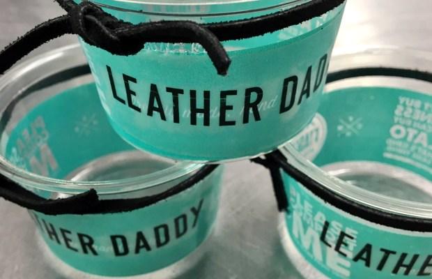 Leather Daddy PRIDE gelato flavor