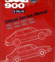 BENTLEY REPAIR MANUAL SAAB 900 8 VALVE, 1981-1988