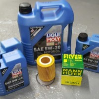 LIQUI-MOLY OIL CHANGE PACKAGE BMW X5 3.0 LITER 2001-2006