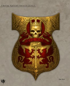 Empire Knight Templar's Shield