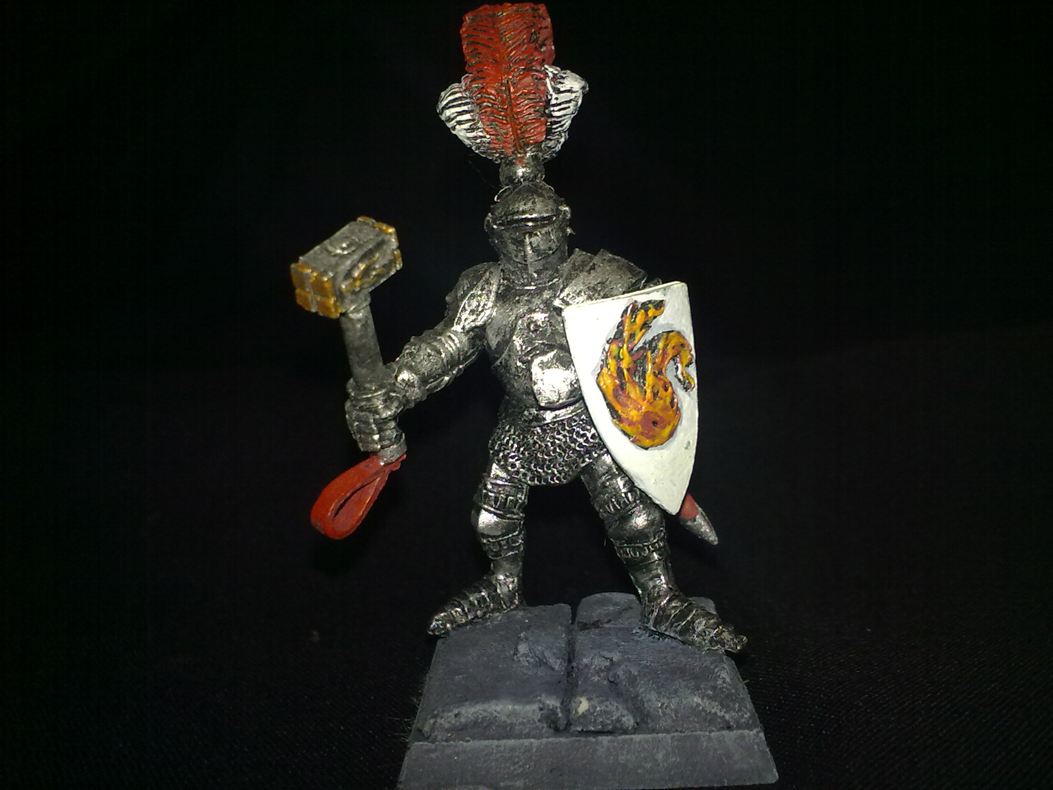 Sigmarite Empire Knight Templar, painted by Questing Knight