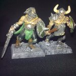 Warhammer Quest - Monsters - Chaos - Norse Marauders