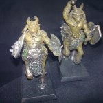 Warhammer Quest - Monsters - Chaos - Beasman Centigors, close-up