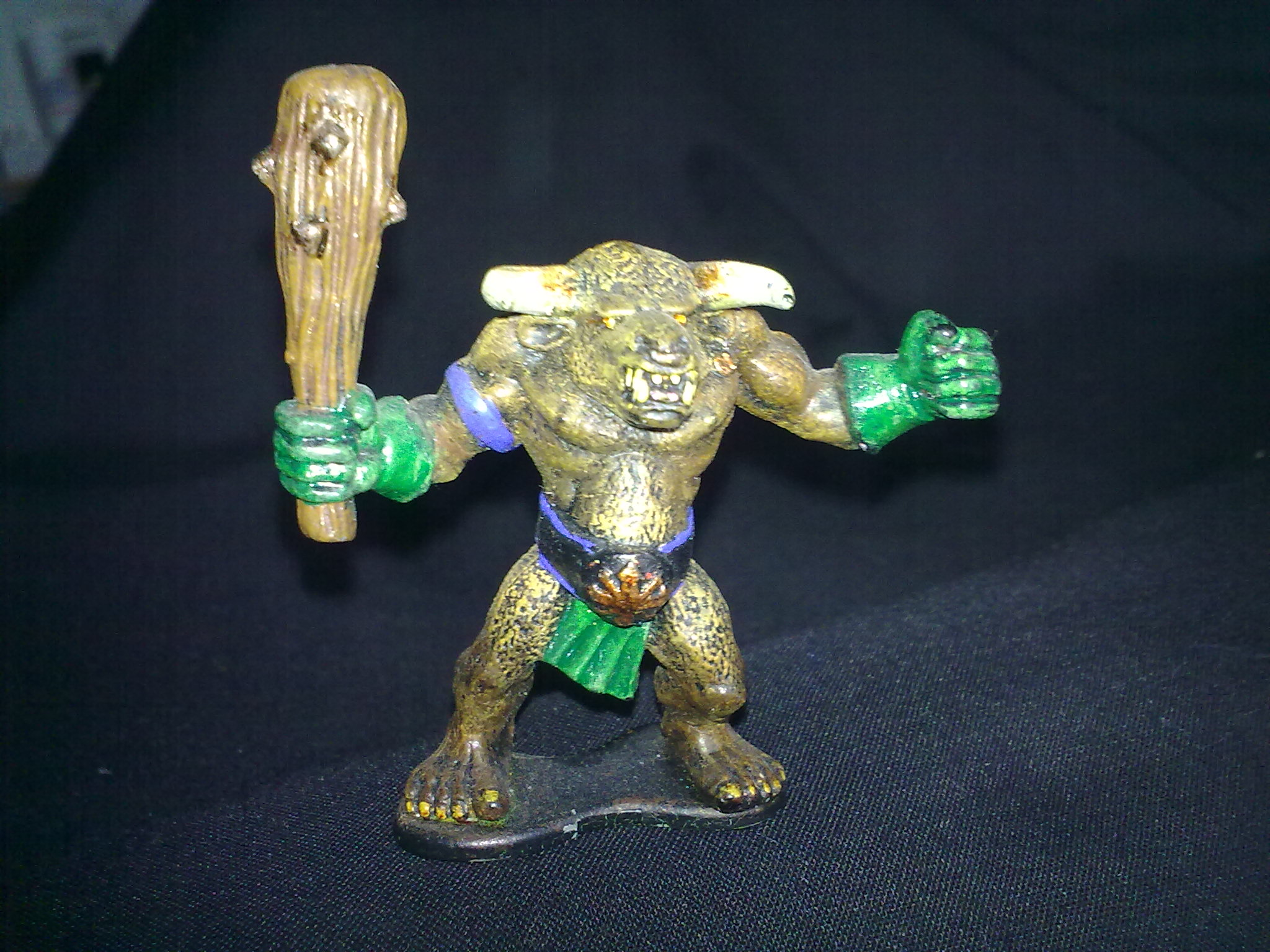 Minotaur, painted by Questing Knight