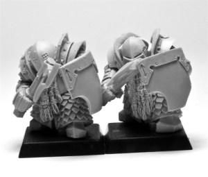 ForgeWorld Chaos Dwarf Infernal Guard - Chaos Dwarf Warriors Proxies