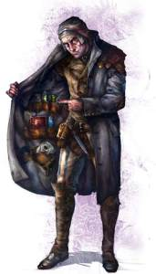 Warhammer Quest Travelling Hazard - Merchant