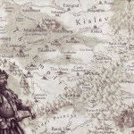 Map of the Empire in the Old World. Used to illustrate the 'Road to Nowhere' Warhammer Quest Travelling Hazard.