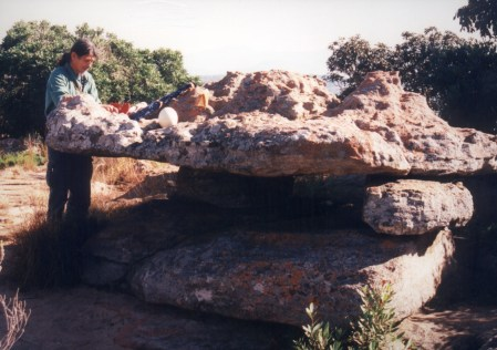 Ancient Rock Alter