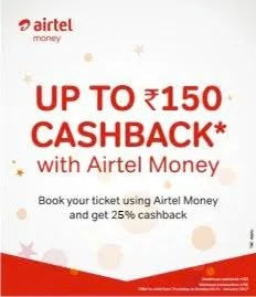 BookMyShow Airtel Money Payment