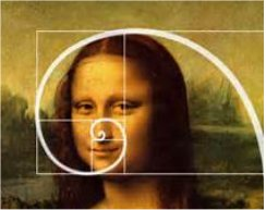 The Fibonacci sequence Mona Lisa