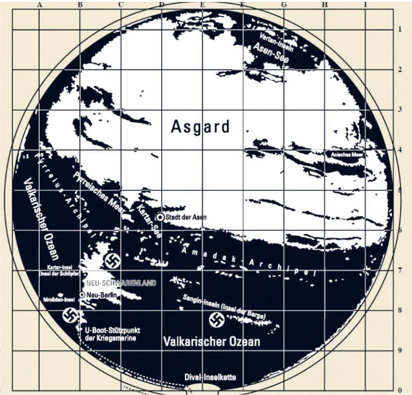 """Tajemnica """"pustej ziemi"""" – czy nazistowskie mapy są prawdziwe?"""