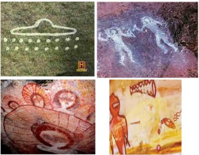 """While the bible only dates mankind to approximately 6,000 years ago, there are numerous petroglyphs and cave wall paintings dating back as far back as 29,000 years old, which raises the question, """"If God created Earth 6,000 years ago, then why are there artifacts older than 6,000 years?"""""""