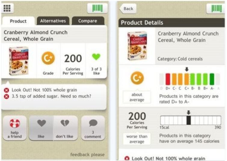 Two Free Smartphone Apps That Will Eliminate Monsanto, Aspartame, HFCS And Processed Foods in5d