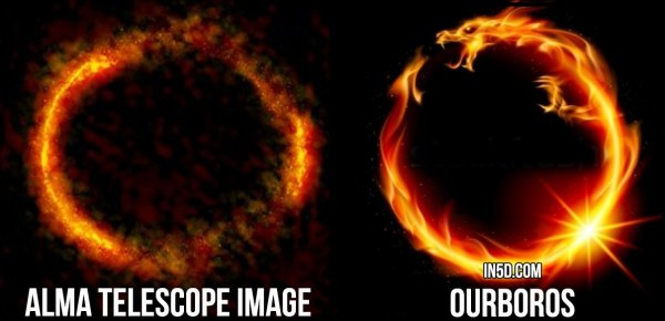 Is This Nibiru, A Galactic Ring Of Fire, An Ouroboros, A Portal Or Something Else?