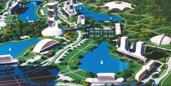 A vision of the new earth via Jacque Fresco of the Venus Project
