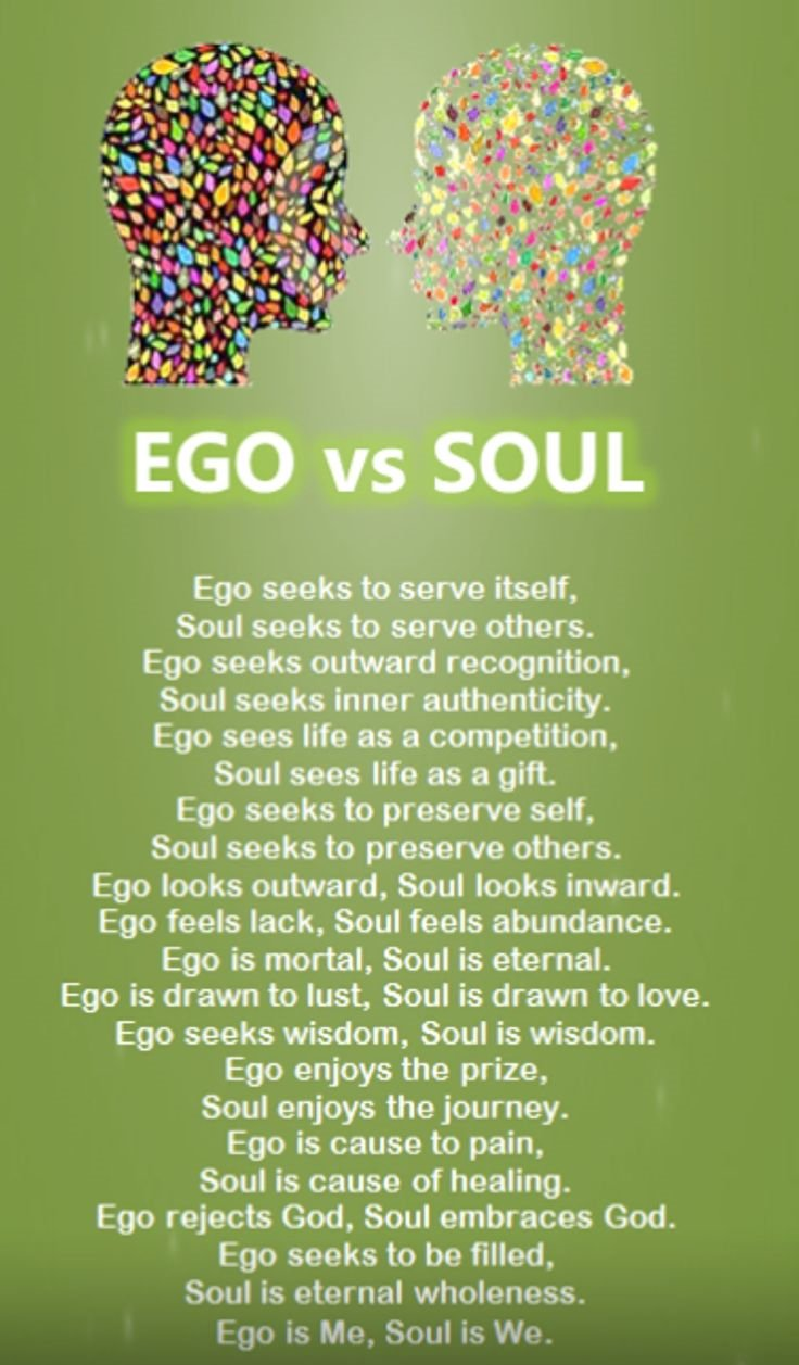 EGO SPEAKS
