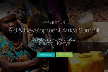 Hear from African Union, UNDP, Ministry of ICT, UNICEF, IFRC, World Vision, USAID and GIZ at Aid & Development Africa Summit 2017