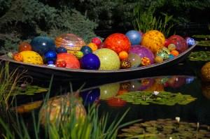 Dale Chihuly Sculptures at the Denver Botanic Gardens (CO)