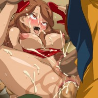 Every time Natsumi Raimon gets double penetrated she completely loosing control and cares only about fucking!