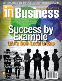 July 2016 In Business Magazine Cover