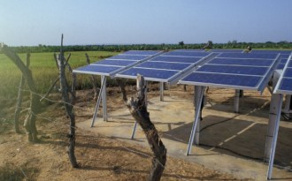 Rapid growth in India's solar energy market