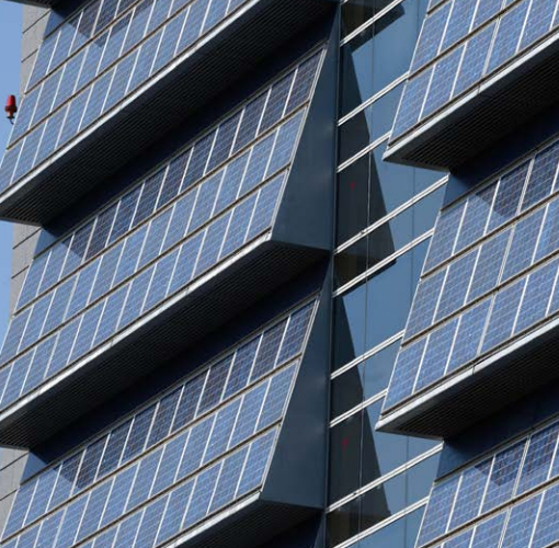 Solar panels on windows, the next big thing (Image: Global Trends in Renewable Energy Investments 2016, UNEP)