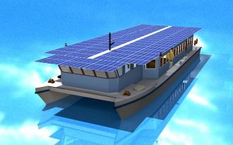 Solar-powered ferry to debut in sunlit Kerala