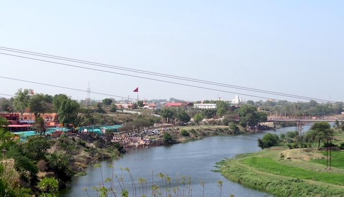 The Shipra enters Ujjain as a rejuvenated river.