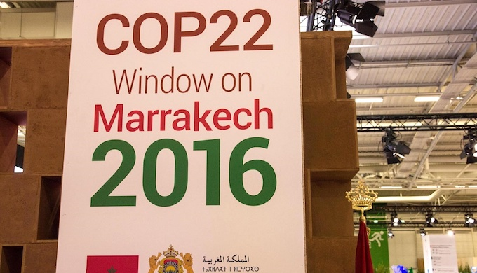 Negotiations are going on at the climate summit in Marrakech, Morocco. (Photo by Climate Action Org)