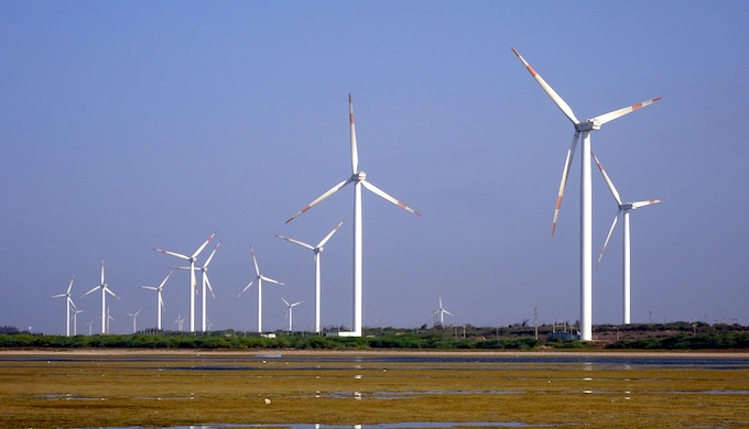 The renewables sector needs clear signals of the future pathways. (Photo by Bishnu Sarangi)