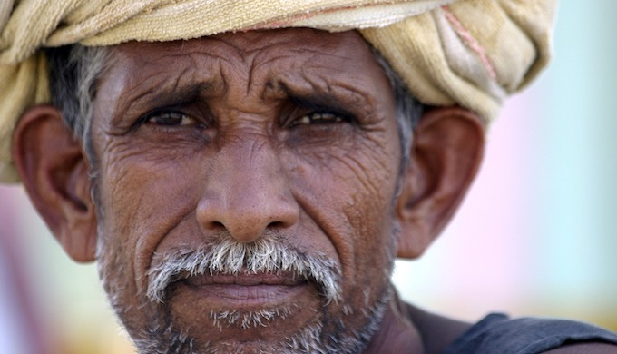 India is in the midst of a farm crisis. (Photo by Sanjeev Rohilla)