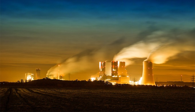 Coal-fired power plants are a leading cause of air pollution in India. (Photo by Benita Welter)