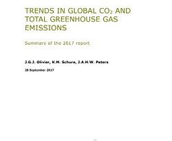 Trends in global CO2 and total greenhouse gas emissions