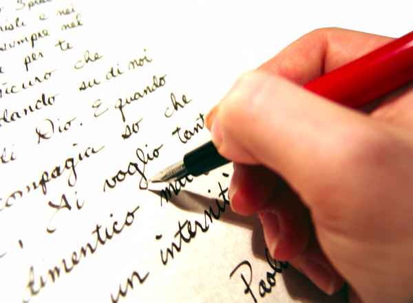 Letter-writing-with-pen