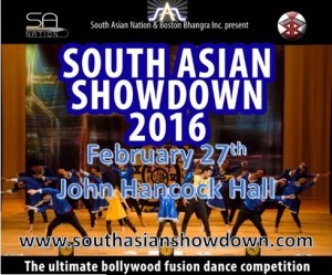 South Asian Showdown 2016 - Best Bollywood/Fusion Teams from North America @ John Hancock Hall | Boston | Massachusetts | United States