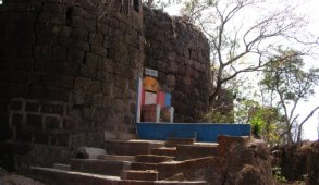 "Yashwantgad Fort, on Ratnagiri coast in Maharashtra. Sale in 2012 exposed by RTI and now it's taken over by state govt. Declared as ""a protected ancient monument of importance in Maratha Naval History."