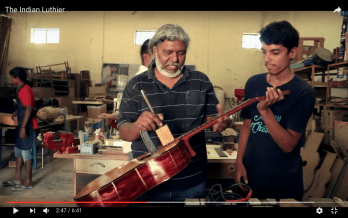 The Indian Luthier: Dominic Xavier
