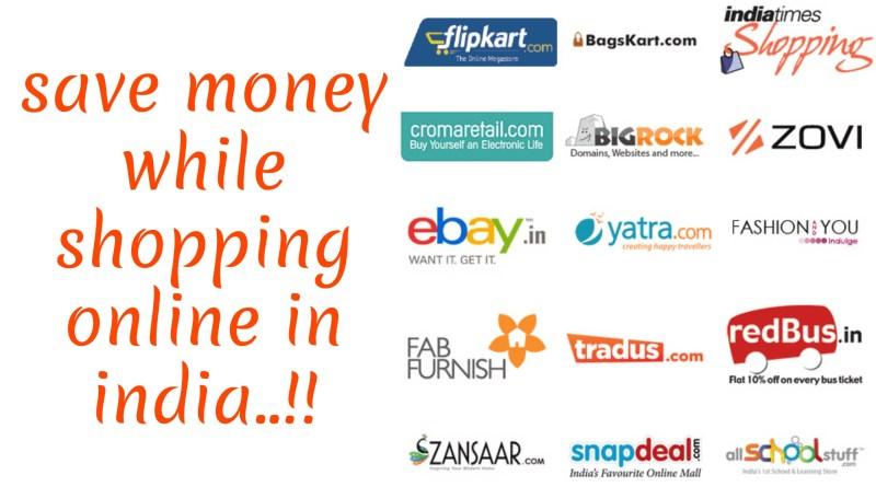 Save money shopping oline