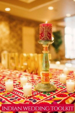 The Indian Wedding Planning Checklist [you can actually use]-candle