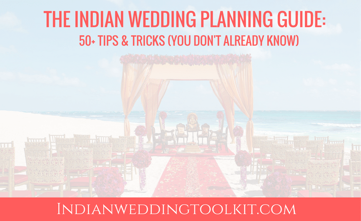 Indian wedding planning tips