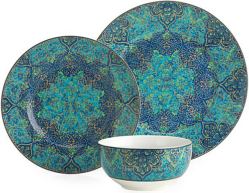 Ibiza Bowls and Dinner Plates from Z Gallerie