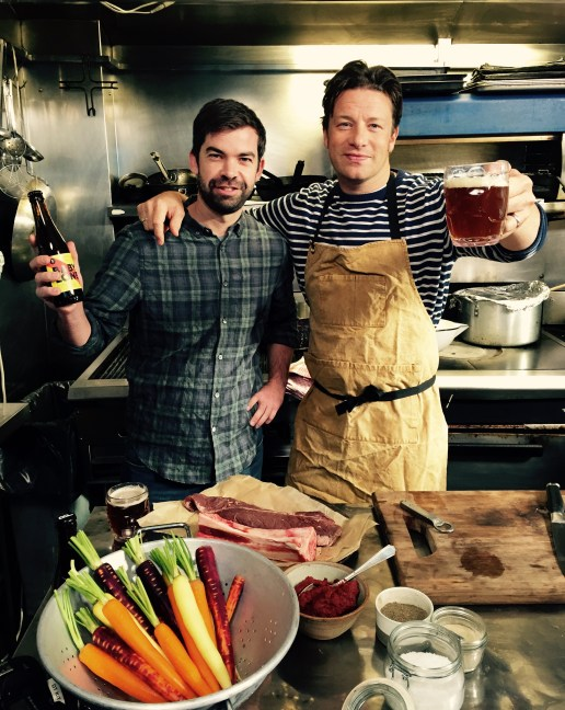 Sébastien, Jamie Oliver & the Babylone Beer
