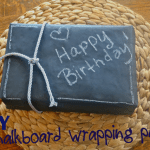 Chalkboard Wrapping Paper – Make the Best of Everything