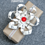 Ribbon Gift Bow Tutorial and a Giveaway – LR Stitched