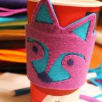 Raccoon Coffee Cozy – Imagine Gnats