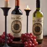 New Years Wine Labels and Fortune Tellers – The Party Artisan