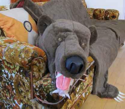 bear skin rug copy