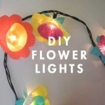 Cupcake Flower Lights – Jilliene Designing and Oh Happy Day